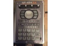 roland sp404 sx sampler, beat making, drum pad, as new