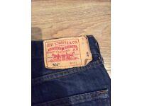 Levi Blue jeans 30W 30 L