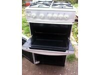 Freestanding Beko gas cooker
