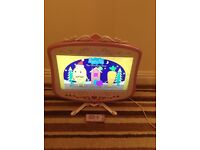 Kids Disney princess 19inch tv/DVD with free view also remote control