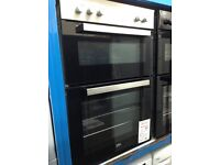 Beko intergrated double oven RRP 370