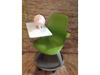 Green Modern 3 In 1 Desking & Seating & Storage