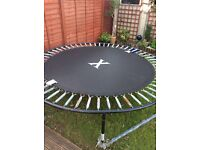 8ft diameter trampoline