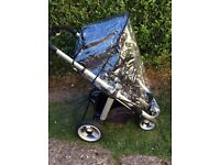 ICany Apple 3 Wheel Jogging Stroller ... Really Good Used Condition...