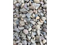 20 mm riverbed garden and driveway chips/ stones/gravel