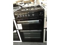 Flavel Milano G60 black gas cooker. New/graded 12 month Gtee