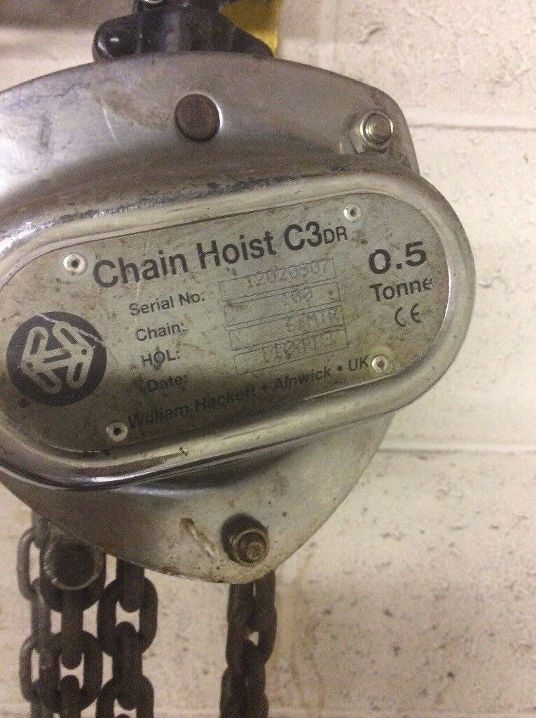 1/2 ton chain block