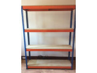 For Sale 5ft Heavy Duty Shelving Suitable for Tools, Storage etc, Dunfermline.