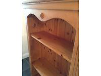 *Bargain* 2 x Quality Antique Pine Bookcase- Bedroom/Living Room -Book Case/Shelf Unit - *Delivery*