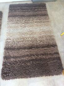 Shetland shaggy rugs.