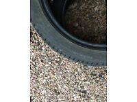 2x contenental winter tyres 205 45 17 xl