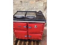 Rayburn oil fueled cooking/ heating range