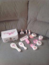 ELC Girls Wooden Vanity Case Playset Toy