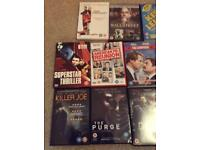 14 Dvds and a selection of CDs all for £8
