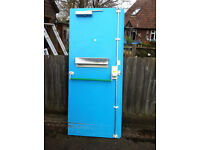 Heavy Duty Metal Steel Security Door Frame & Furniture, Fire Rated, Insurance Approved & Insulated