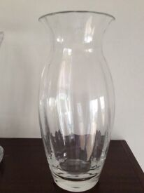 New Dartington Crystal Vase in Box