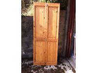 PINE BI FOLD DOOR