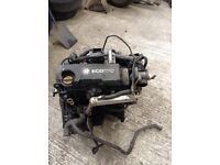 Vauxhall combo 1.7 Diesel engine complete