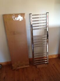 Central heated towel rail.40cmx1.2metres.New but bought wrong size.