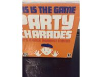 Party charades board game, new