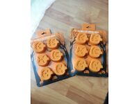 M&S Silicone 6 cup pumpkin mould Halloween