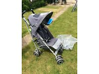Maclaren pushchair, used but in decent condition, from smoke and pet free home