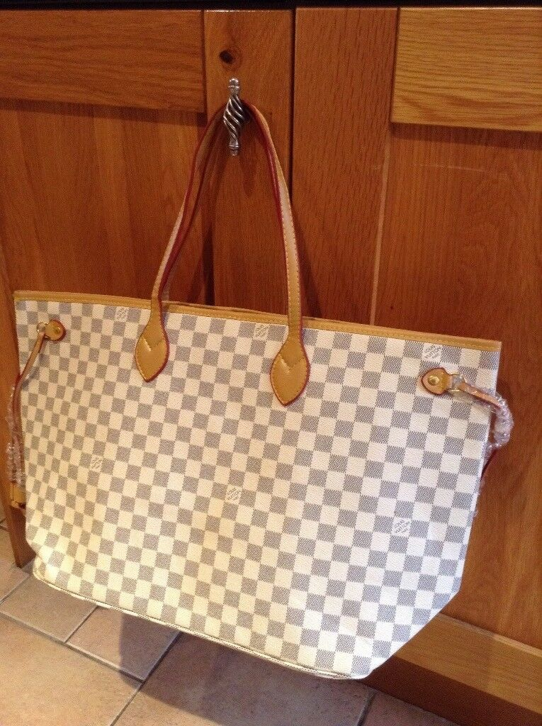 Louis Vuitton neverfull GM Damier azur handbag  b1f885b3f0851