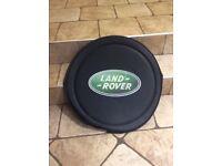 Land rover spare wheel cover