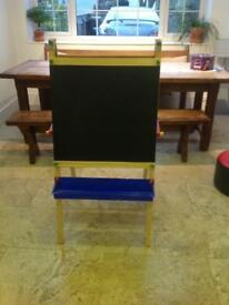 Children's Double sided fold away easel