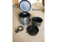 Teal Rice Cooker/Steamer