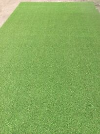 Artificial grass roll end ,top quality, brand new 40 mm thick 4m x4m £224