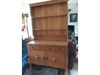Dresser - Beautiful Solid Oak WW1 era dresser