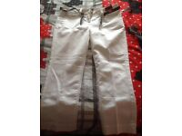 Principles Ben De Lisi Crop Trousers white New with Tags size 12