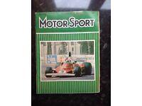 Motorsport magazines for sale