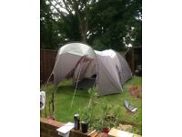 Lightweight 5 berth tent