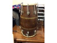 Dholak with nut and bolt