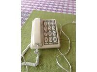 Retro '70s' telephone