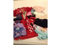 Bundle of girl's clothes 4/5 years old (12 items)