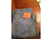Levi 501 jeans unused, unwanted gift. W34 L30