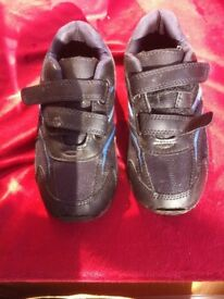 Black trainers size 2