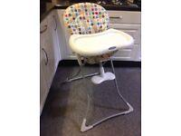 Grace folding high chair