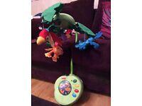 Fisher price rainforest cot mobile