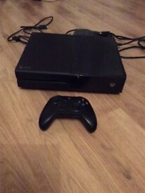 Xbox one boxed and 3 games