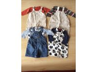 Bundle of Baby Boy clothing 6-9 months, Next, Baby Gap, Mothercare VGC