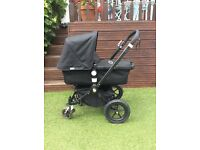 Black Bugaboo Cameleon 2 (limited edition true black frame)