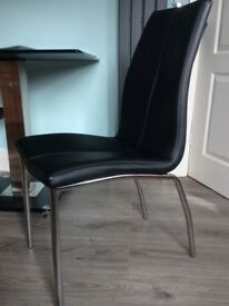 2 NEXT OPUS DINING CHAIRS