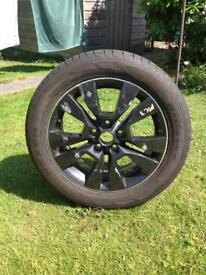 "Spare Wheel and Tyre 17"" 225/50R17"