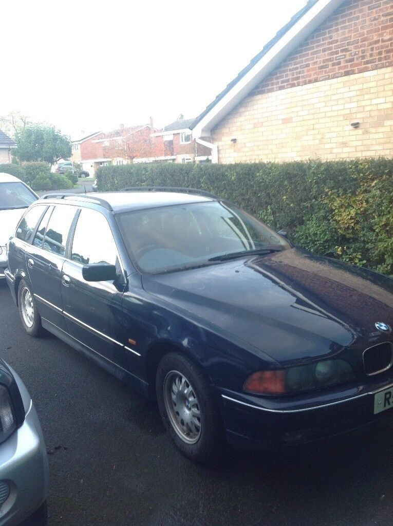 BMW 523i . Excellent engine and auto gearbox .