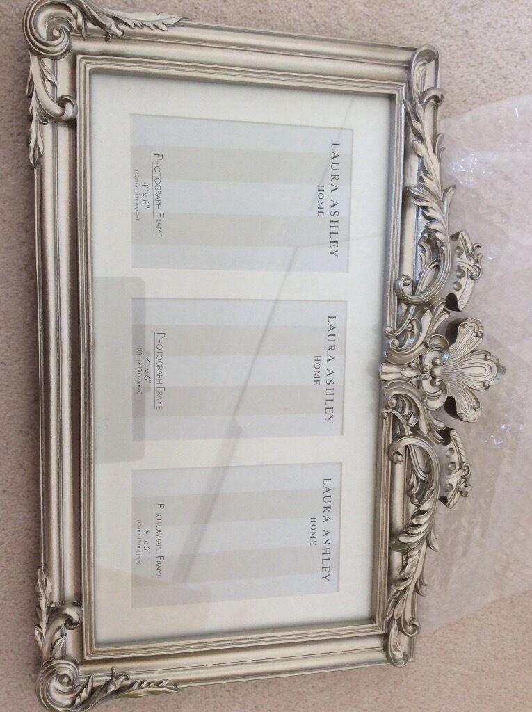 Laura Ashley multi aperture photo frame in silver | in Highcliffe ...