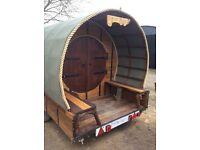 Shepherds hut Glamping Bandb playhouse trailer spare room pod camping